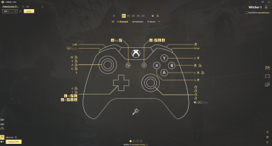 The Witcher Xbox Controller Config