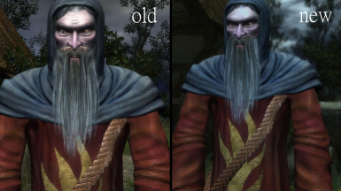 Reverend Beard Texture Fix