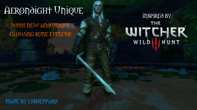 Aerondight Unique inspired by The Witcher 3
