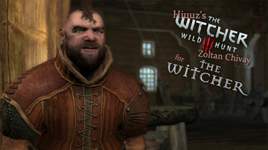 Hiuuz's Witcher 3 Zoltan Chivay for The Witcher