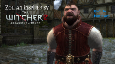Zoltan inspired by The Witcher 2