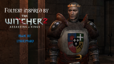 Foltest inspired by The Witcher 2
