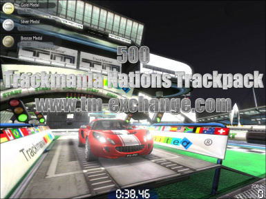 TrackMania Nations Forever Map Pack (500)