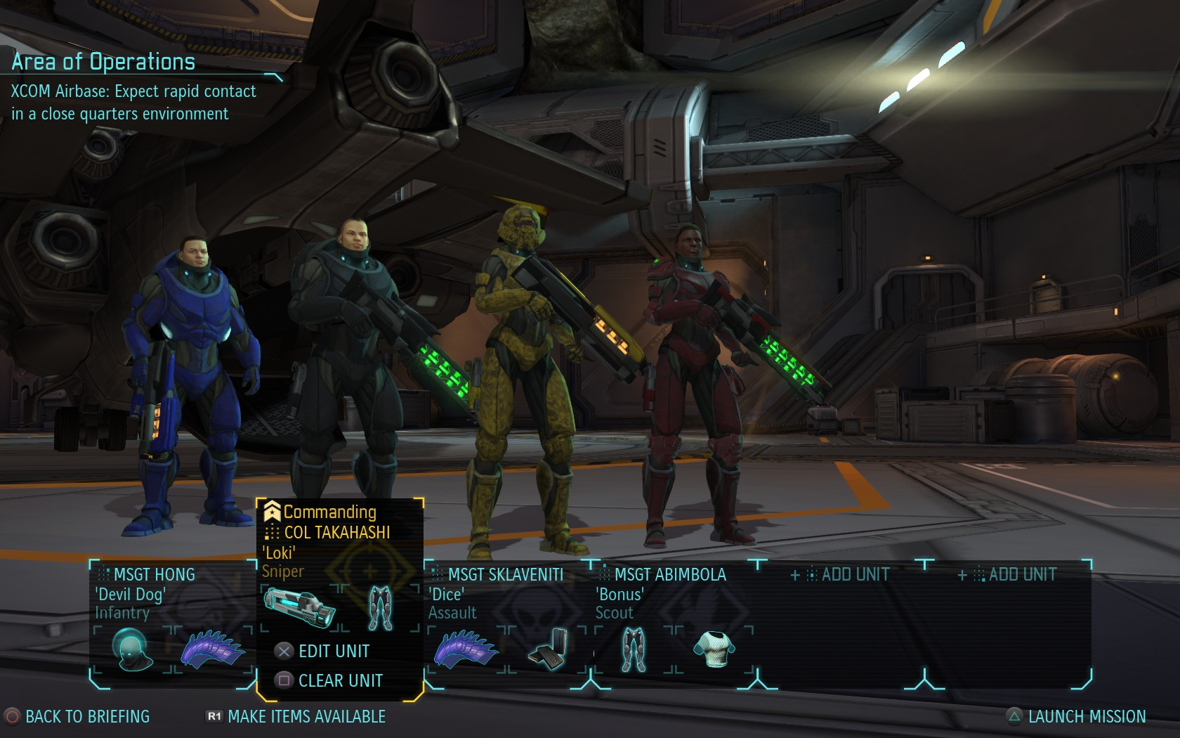 Show Deployment Position (for Long War) at XCOM Enemy Unknown Nexus