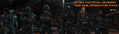 XCOM Tier One and Two Operator Retexture Pack EU and EW