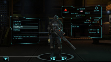 Basic body armor and Sniper Rifle