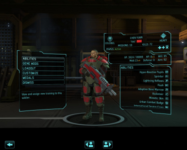 XCOM Interface and Gameplay Tweaks