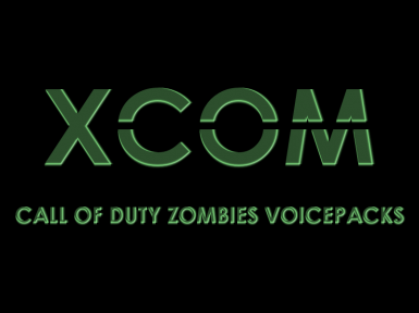 Call of Duty Zombie Mode - 4 Voicepacks for XCOM soldiers (for Long War and Vanilla)