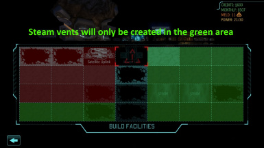 Steam Vent Location Tweak (for Long War)