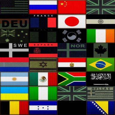 IR and Subdued Flags