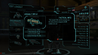 XCOM Weapons Overhaul for Enemy Within
