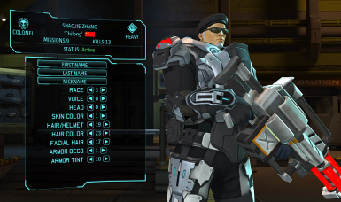 Shaojie Zhang - XCOM EU full customization