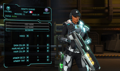 Annette Durand - XCOM EW partial customization