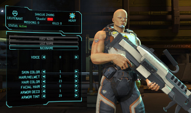 Shaojie Zhang - XCOM EW partial customization