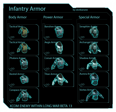 Soldier Armors