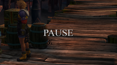 PS2 Like Pause Text