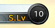 Alt HD S.Lv and Number of Items Orb