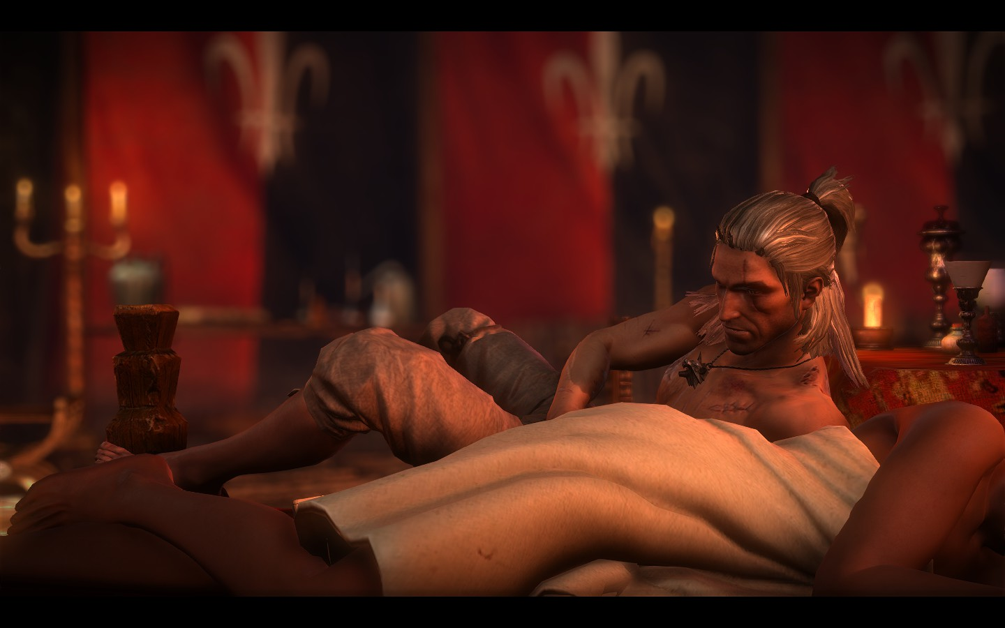Witcher nude.