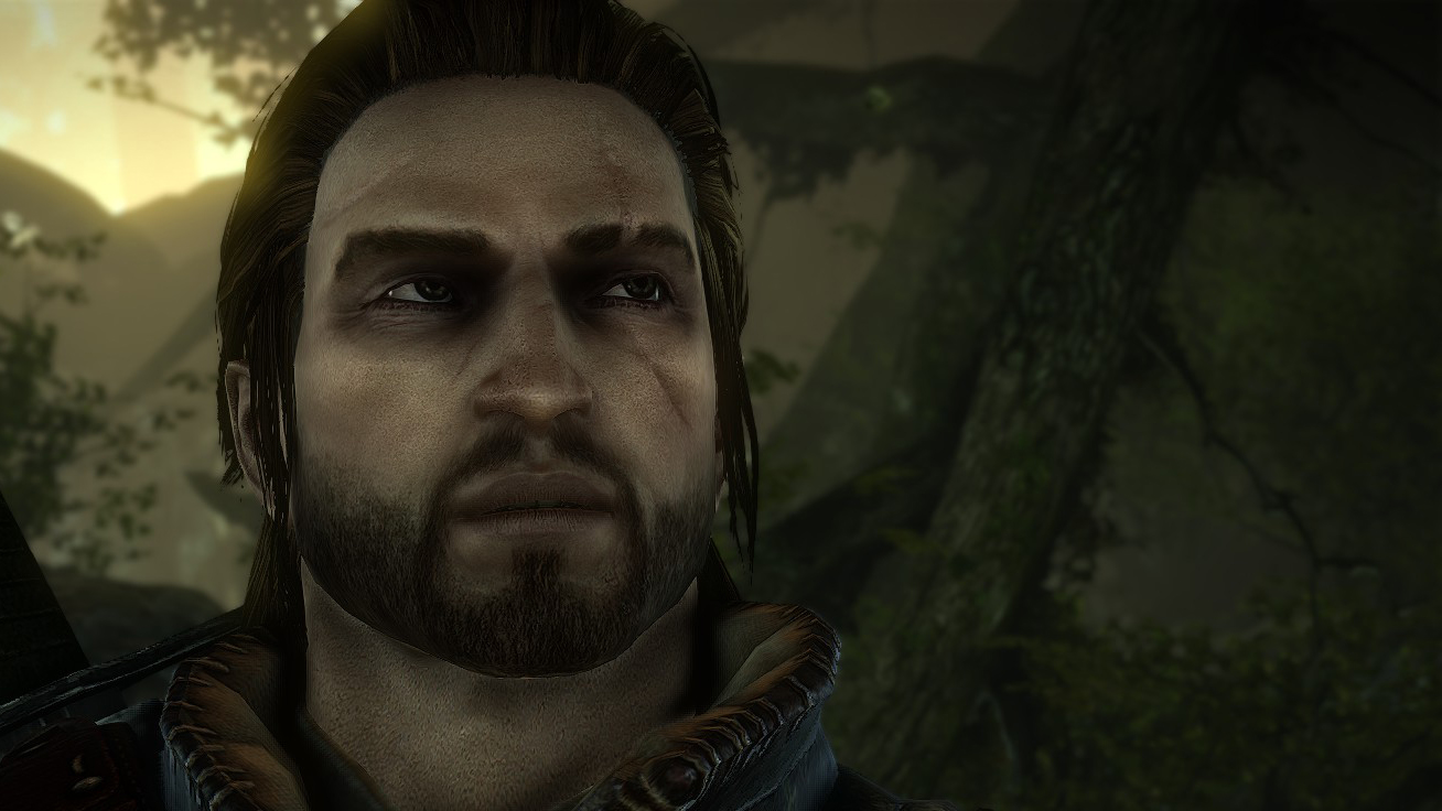 Witcher 3 Hair Styles: Brown Hair Human Eye Geralt At The Witcher 2 Nexus