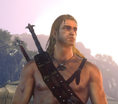 A younger blond and more handsome Geralt