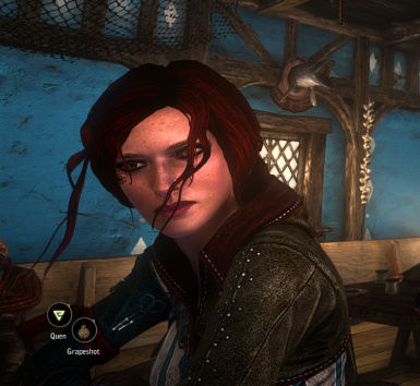 Tattoo and Nose Stud Triss