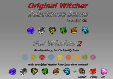 Original Witcher Substance Icons