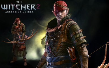 The Witcher 2 EE Iorveth path save game