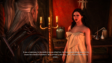 Yennefer (Triss Replacement MOD) at The Witcher 2 Nexus