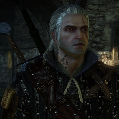 Geralt of Rivia from Witcher 3 retexture