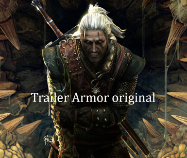 Trailer Armor Original and mini fix and swords of The Witcher 3