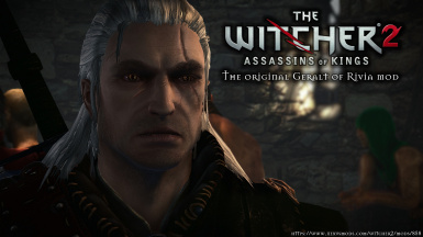 The original Geralt of Rivia Mod for The Witcher 2