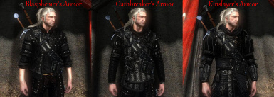 Large armor models pack (dark difficalty armor - starter armor - and other popular)