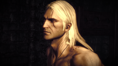 Geralt of Rivia Face Retexture Witcher 2
