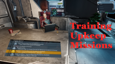 Training Upkeep Missions