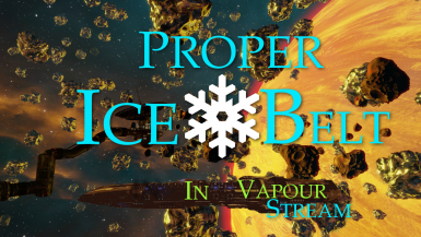Proper Ice Belt in Vapour Stream