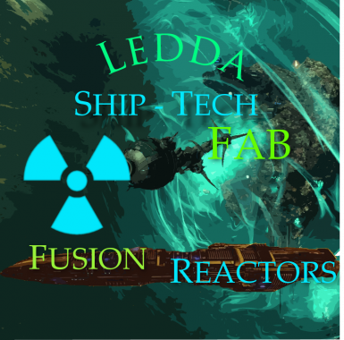 Ledda Ship Tech Fab Fusion Reactors
