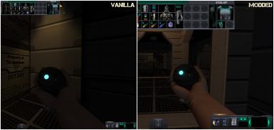 System Shock 2 - HUD Scaling and Lighting Enhanced