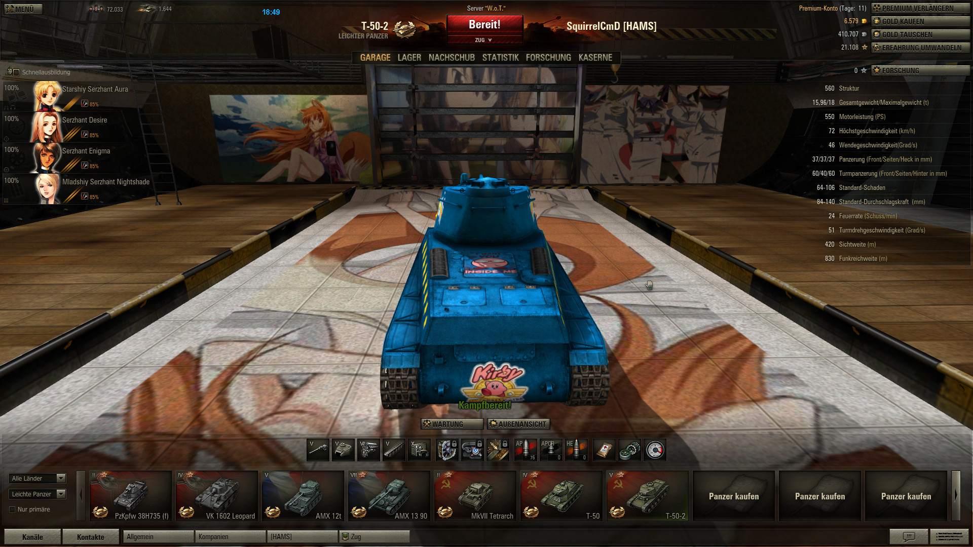 world of tanks mod for chat