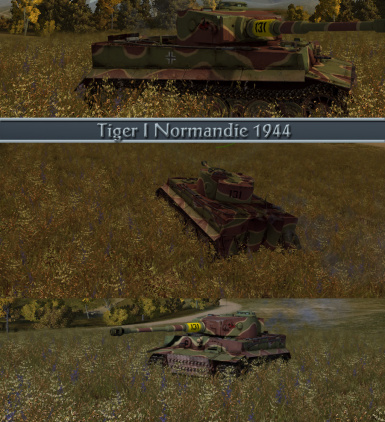 Tiger 1 Normandie 1944