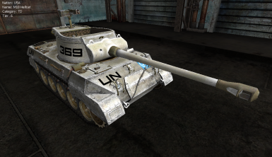 M18 Hellcat - United Nations