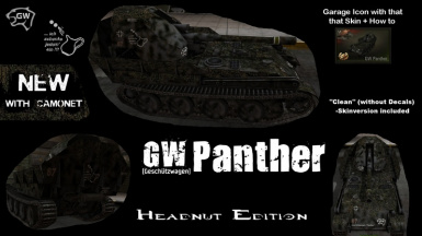 GW Panther - Headnut Edition with Camo Net