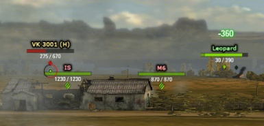 what is in aslain's world of tanks mod