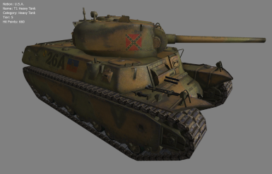 T1 Heavy Tank of the CSA