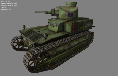 T2 Medium Tank of the CSA