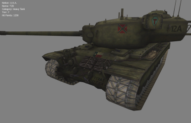 T29 Heavy Tank of the CSA