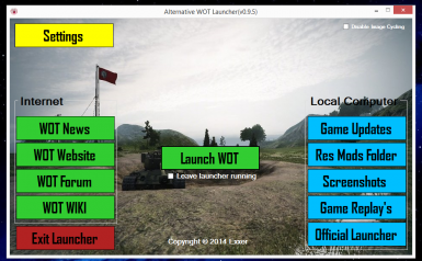 Alternative WOT Launcher