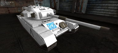 Centurion Mk7 - United Nations