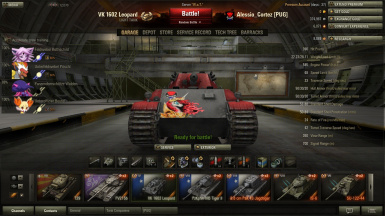 59-16 and Vk1602 Leapord skin