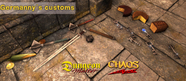 Germannys Dungeon Master and Custom Assets