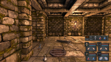 Legend of Grimrock Quick Action Bar 01